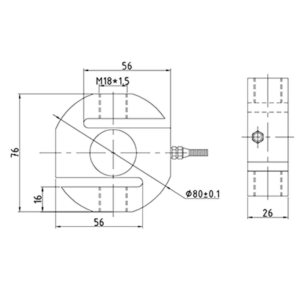 OS-301A Tension S type Load Cell