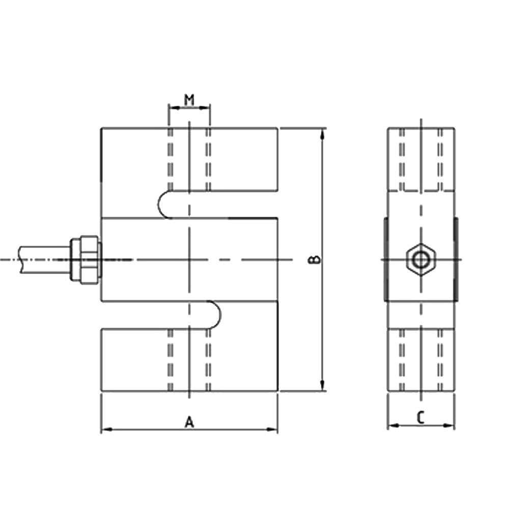 OS-302Y Tension S type Load Cell
