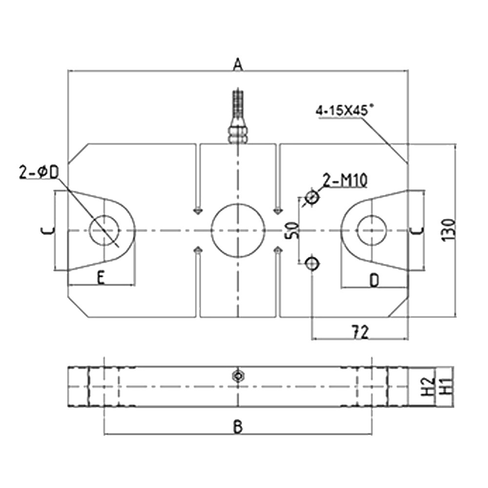 OS-309Tension S type Load Cell