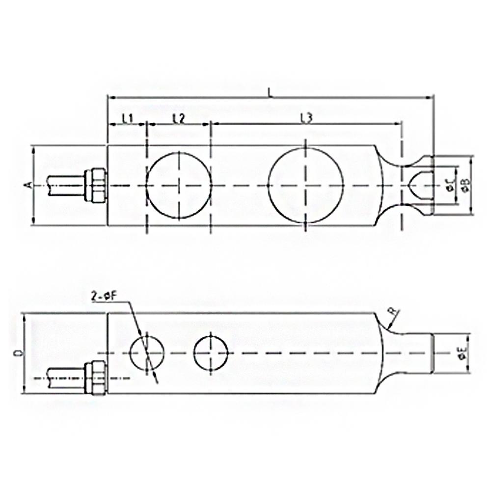 OS-106 Shear Beam Load Cell