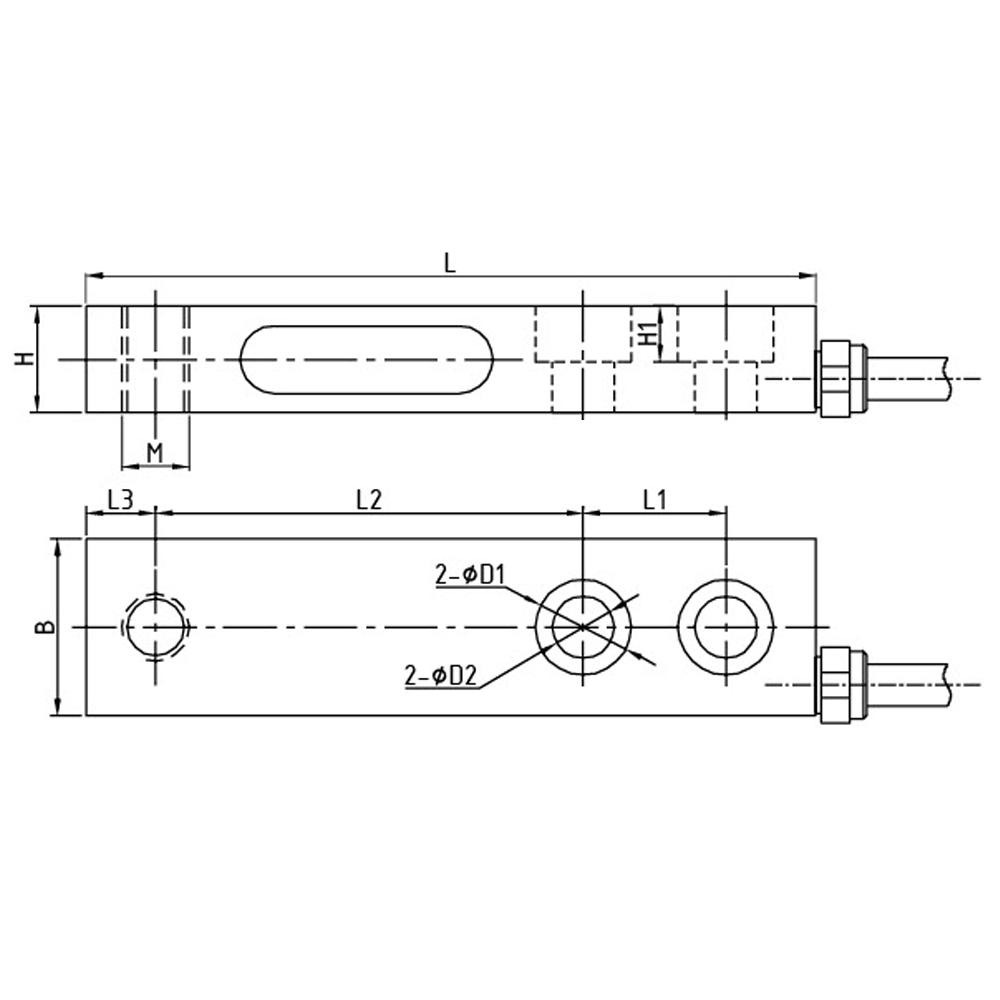 OS-107 Shear Beam Load Cell