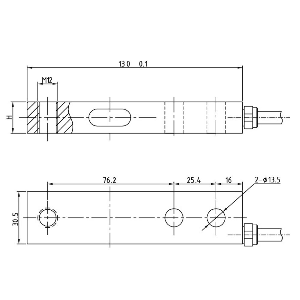 OS-108 Shear Beam Load Cell